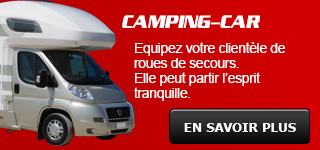roue secours camping car